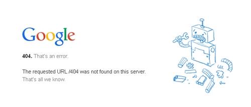 صفحة الخطأ 404 404_google